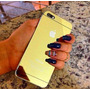 Película Dourada Espelhada Para Iphone 4 4s 5 5c 5s 6 6 Plus