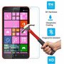 Película De Vidro Temperado Antishock Nokia Lumia 1320 Top!!