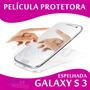 Película Protetora Espelhada Tela Samsung Galaxy S3 Protetor