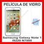 Película Escudo De Vidro Temperado Galaxy Note1 I9220 N7000