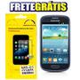 Kit 03 Películas P/ Samsung Galaxy S3 Mini-i8190+frete