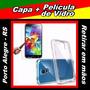 Capa Samsung Galaxy S5 Mini + Película De Vidro - Poa / Rs