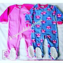 Macacão Fleece - Kit De 2 Pijamas - 24meses Ou 3 Anos Novo