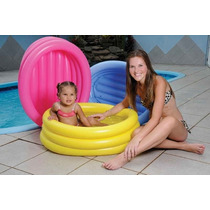 Banheira Inflável Oval 55 L Piscina +bomba Inflar Mor Cl1787