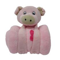 Fazendinha Com Mantinha Para Bebê Em Plush Buba Db9845 Porco