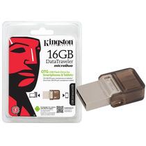 Pen Drive Smartphone Kingston Dtduo/16gb Dt Micro Duo 16gb U