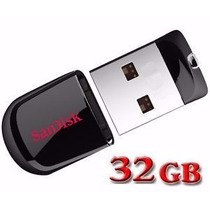 Micro Pen Drive 32 Gb Sandisk Fit Novo Compativel C Usb 3.0