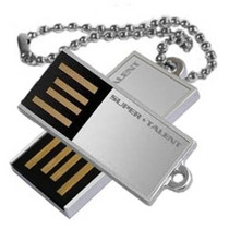 Mini Pen Drive Pico C Silve Super Talent 32gb Usb E Corrente