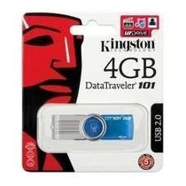 Pen Drive Kingston 4 Gb Original Lacrado Com Frete Gratis