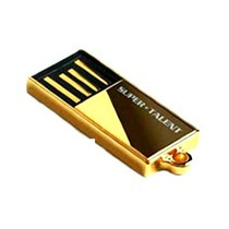 Mini Pen Drive Pico C 16gb Super Talent - Gold Edition 16gb