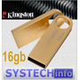 Pen Drive 16gb Kingston Ge9 Gold - Original Capacidade Real