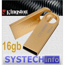 Pen Drive 16gb Kingston Ge9 Gold - Original Capacidade Real