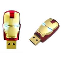 Pen Drive 8gb Iron Man - Homem De Ferro