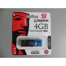 Pen Drive 4gb Kingston Original Lacrado - Frete Grátis