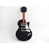 Pen Drive 8gb Guitarra Preta Pronta Entrega