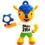 Pen Drive 8gb Mascote Fuleco Copa 2014 Brasil