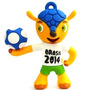 Pen Drive 8gb Mascote Fuleco Copa 2014 Brasil Frete Grátis