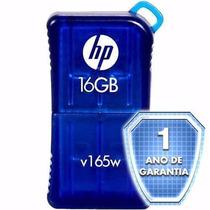 Pen Drive Hp V165w - 16gb - Usb 2.0 - 1 Ano De Garantia!