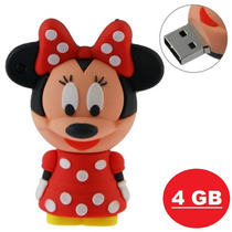 Pen Drive Disney Minnie Mouse 4gb