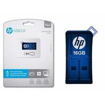 Pen Drive Hp Original Azul 16gb - Flash Drive Usb 2.0