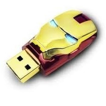 Pendrive Homem De Ferro 8gb - Pronta Entrega - Imperdível!!!