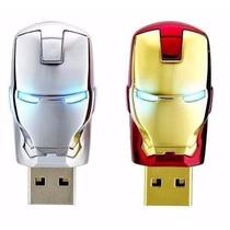 Pen Drive Homem De Ferro 32gb Iron Man - A Pronta Entrega***