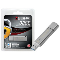Pen Drive 32gb Usb 3.0 Criptografia Kingston Dtlpg3/32gb