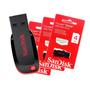 Kit Pen Drive Sandisk 4gb Lacrado 100% Original 10 Peças
