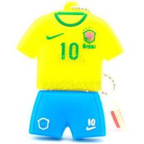 Pen Drive Personalizado Time Camisa Do Brasil Kaká 8gb