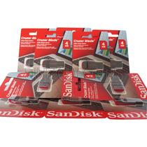 Kit 30 Peças - Pen Drive Sandisk 4 Gb Original E Lacrado