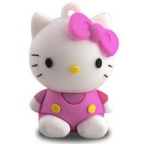 Pendrive 4gb Gata Hello Kitty 100% Qualidade Fréte + Barato