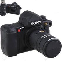 Pen Drive 4gb Personalizado Form Câmera Digital Profissional