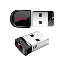 Micro Nano Ultra Mini Pendrive 32gb Nano Sandisk Fit Lacrado