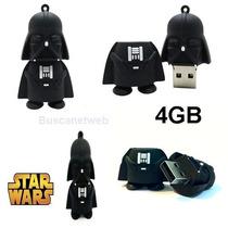 Pen Drive Darth Vader Star Wars 4gb Pronta Entrega