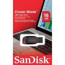 Pen Drive 16gb Sandisk Frete Gratis Sdcz50-016g-b35 - Box
