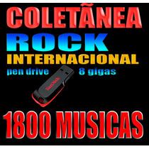 Rock Classic Internacional - 1800 Músicas No Pendrive 8gb