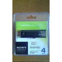 Pendrive 4gb Sony Microvault Original Lacrado.