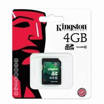 Cartão De Memória Kingston 4gb Sd Classe 10