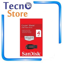 Kit 100 Pen Drives Sandisk Z50 Blade 4gb Original E Lacrado!
