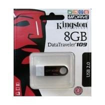 Mini Pendrive Kingston 8gb Slim Dt109 Lacrado Nota Fiscal