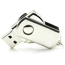 Pen Flash Drive 16gb Usb Hd Externo Inox Metal Chaveiro