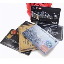Pen Drive Cartão De Crédito 4gb Usb Original