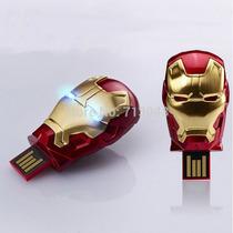 Pen Drive Homem De Ferro 3 32gb Iron Man Edição Limitada
