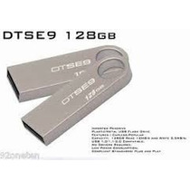 Kingston Pen Drive 128 Gb Usb 2.0 Dtse9 128gb