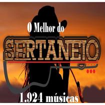 Sertanejo Pen Drive (1.921 Músicas)
