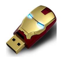 Pen Drive Homem De Ferro 64gb Iron Man Pronta Entrega