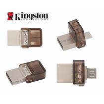 Pendrive Celular Tablet Kingston Micro Usb Otg Pc Dtduo 8gb