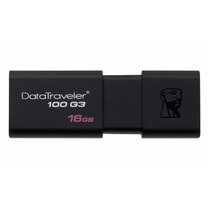Pen Drive Usb 3.0 16gb G3 100 Kingston - Dt100g3 (retrátil)