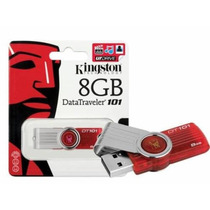 Pen Drive 8gb Kingston Original Dt 101 G2 - Lacrado Blister