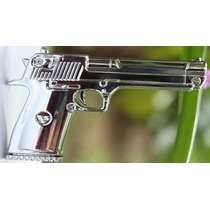 Pen Drive 8gb Pistola - Arma - Metal - Prata - Frete Grátis.